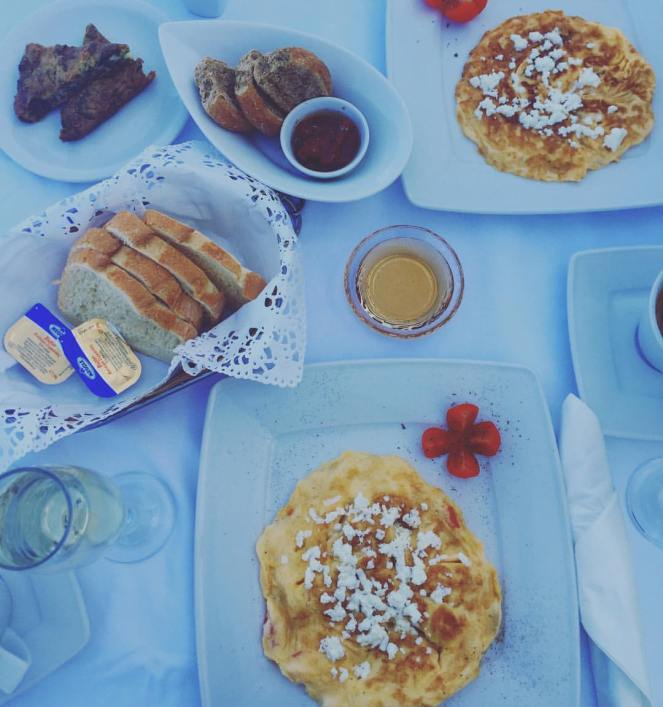 Santorini Breakfast